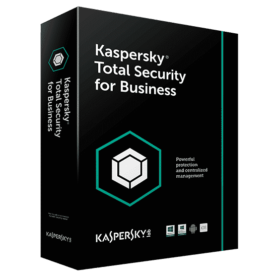 Kaspersky Endpoint Total Security For Business 1 File Server + 30 Pc Por 1 Año