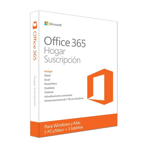 Office 365 Home Premium© MFR # 6GQ-00024 Para 5 Dispositivos PC/MAC/Android