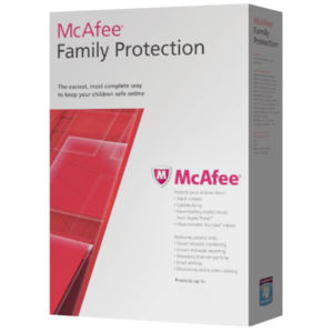 McAfee Family Protection Kids Online Kit 2 Años