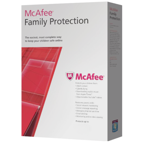 McAfee Family Protection Kids 1