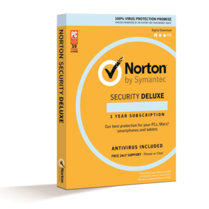 Antivirus Norton Security Deluxe Por 1 Año Para 3 Pcs