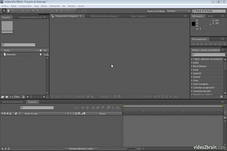 Adobe After Effects CS5 Profesional 2 Muestra