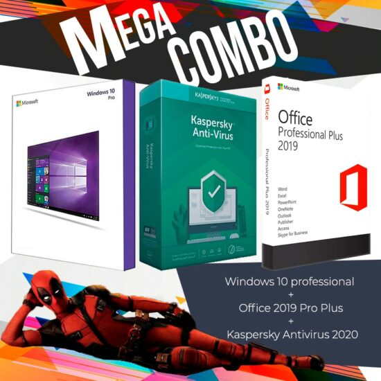 Windowa10+officepro19+kaspersky