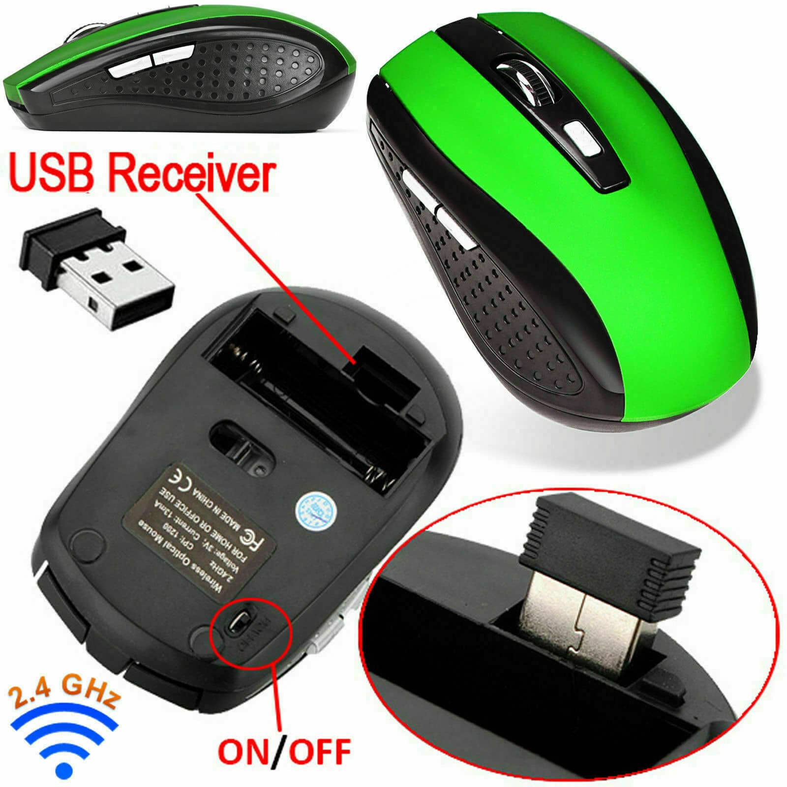 Mouse wireless 1 4
