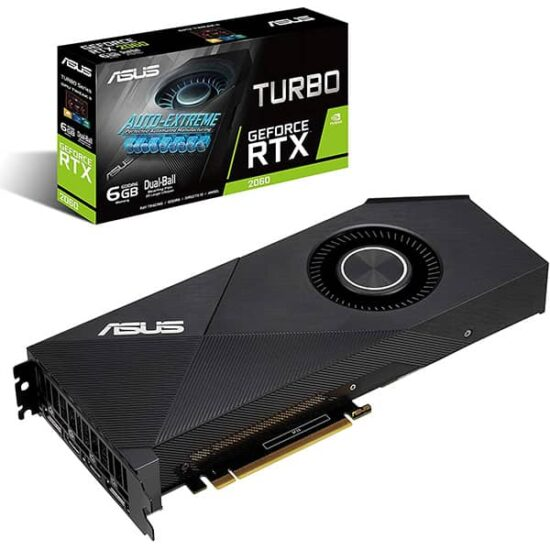 ASUS GeForce RTX 2060 6G Turbo Edition GDDR6 1