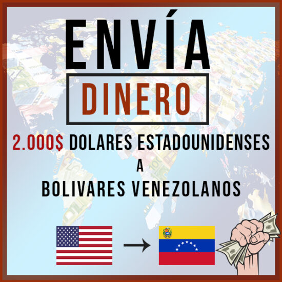 2000 USD a Bolivares VES