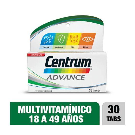 CENTRUM ADVANCE X30 TABLETAS 1