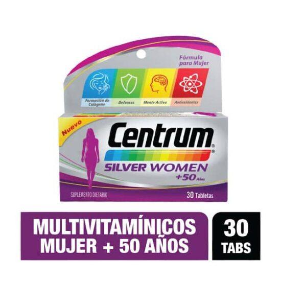 Centrum For Women +50 años x30