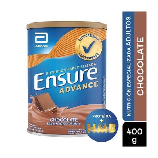 ENSURE ADVANCE CHOCOLATE X 400 Gr 1