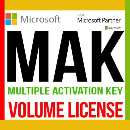 Licencia MAK Volumen