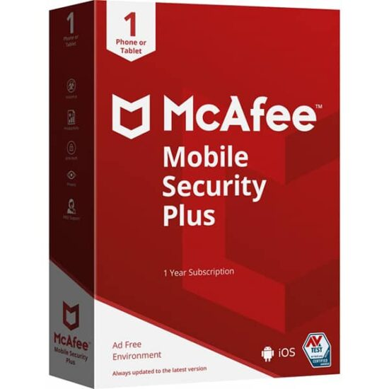 Mcafee Mobile Security Portada