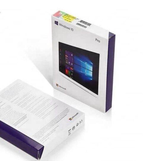 Microsoft Windows 10 Professional Pro 64bit Retail Box USB Flash Drive 6