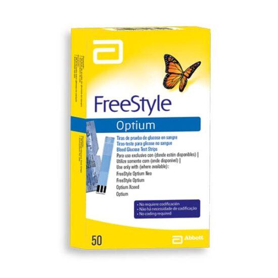 Tiras FreeStyle Optium