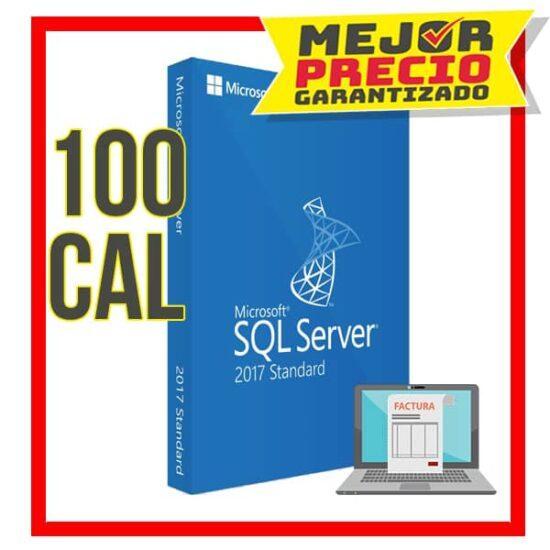Sql-2017-std 100cal
