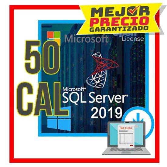 Sql-2019-std 50cal