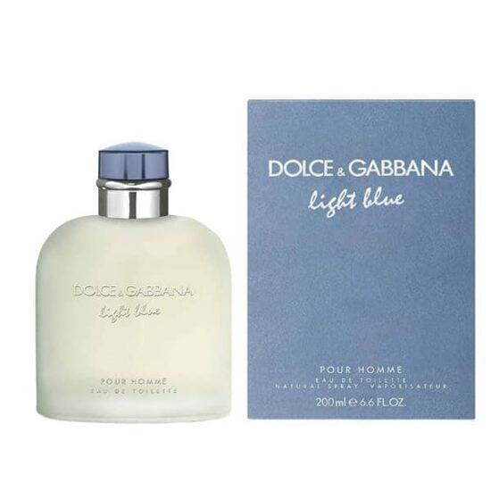 Dolce Gabbana light blue para hombres