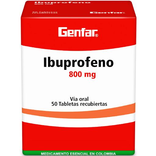 Ibuprofeno Genfar 800 MG