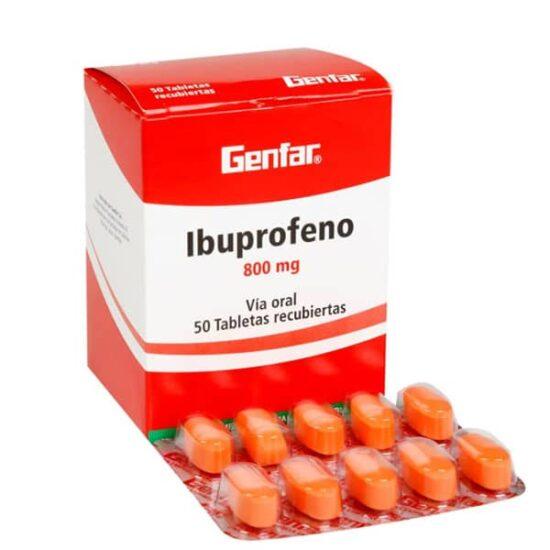 Ibuprofeno 800mg x10