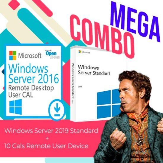 Windows Server 2019 Standard 10 Cals Remote User Device