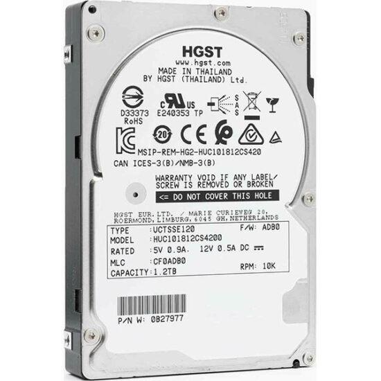 HGST Ultrastar C10K1800 1.2TB